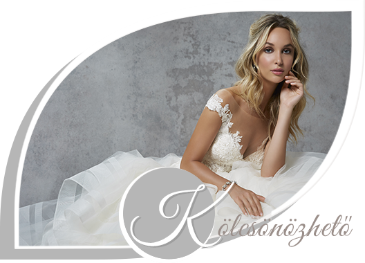 Kölcsönözhető új menyasszonyi ruhák